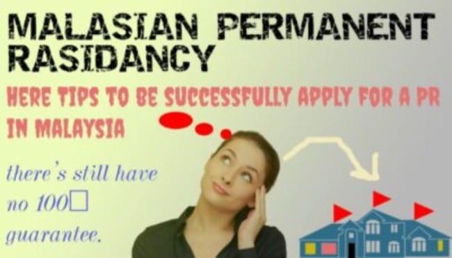 Permanent resident malaysia 2021 requrment